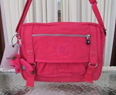 Kipling Gracy Crossbody Bag Vibrant Pink HB6260 NWT