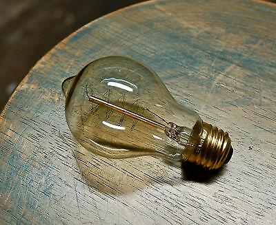 Edison Globe Light Bulb, 60watt Antique Spiral Filament Vintage Reproduction A19