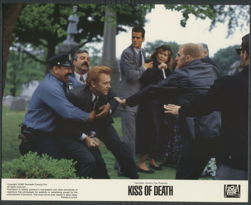 DAVID CARUSO ANNE MEARA MICHAEL RAPAPORT  Kiss Of Death '95