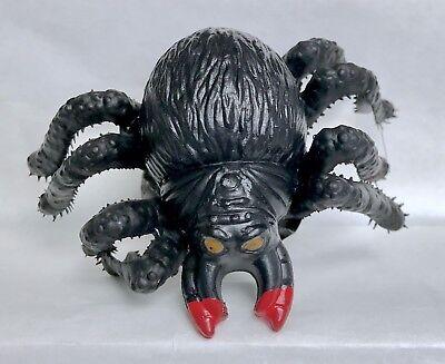 Vintage 1990 Topps Spider Bites Tarantula Candy Container Bubble Gum Fleer Black