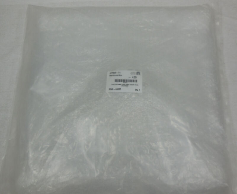 0040-88520, Amat, Applied Materials, Plate Blank-off Leak Check Hdsa Chamber
