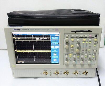 Tektronix Tds5054b Digital Phosphor Oscilloscope 500mhz 5ss 4 Channel Dpo