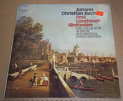 Collegium Aureum J C  Bach 3 London Symphonies   Dhm 1C 065 99 759 Sealed