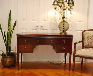 VINTAGE/ANTIQUE HALL TABLE/ SIDE TABLE/DESK/ WRITING TABLE/ TV ST Berwick Casey Area Preview