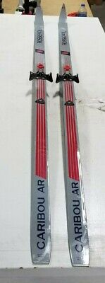 ROSSIGNOL CARIBOU VINTAGE CROSS COUNTRY SKIS 208 CM NEW NEVER DRILLED//WAXABLE
