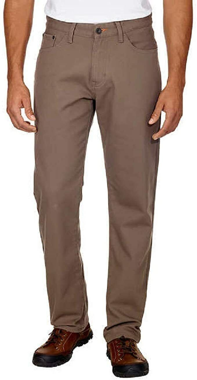 WeatherProof Fleece Lined Jeans Brown  30×30 Clothing, Shoes & Accessories