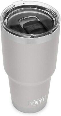 YETI Rambler 30 oz Tumbler, Stainless Steel, Vacuum Insulated - Granite Gray