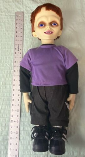 """Rare 2004 Spencers Seed of Chucky Glen Doll Life Sz 24"""" Horror Collectible"""