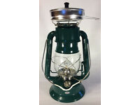 Green Dietz 2000 Millennium Warm It Up Oil Kerosene Cooker Camping Lantern LA882