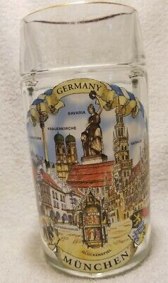 Large German Rastal 1L Beer Mug
