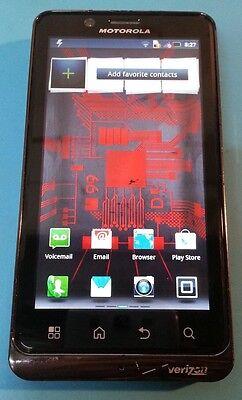 Motorola Droid Bionic 16GB Black (Verizon) Clean MEID Good Condition GREAT DEAL!