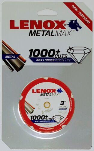 """Lenox 1972918 3"""" Diamond METALMAX Cut-off Wheel"""