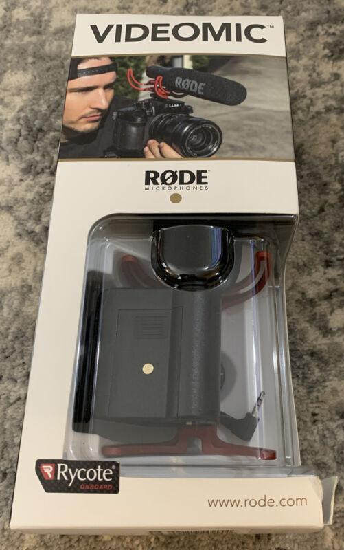 Rode VideoMic Camera-mount Shotgun Microphone with Rycote Lyre Shock Mounting