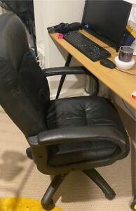 Computer Chair & Monitor