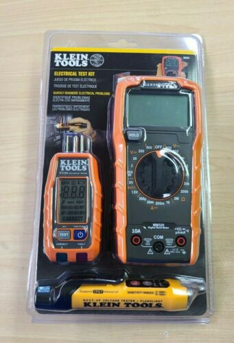 Klein Tools 69355 Multi-Meter, Voltage Tester & Outlet Tester  -  FREE SHIPPING!