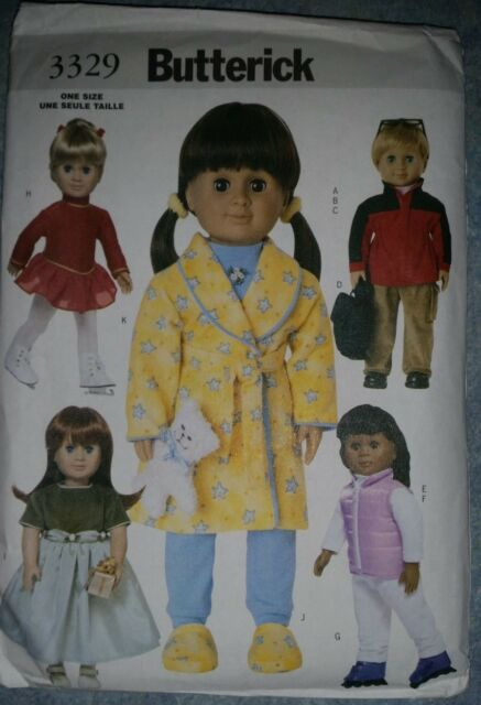 Brand New Butterick Doll Clothes Pattern