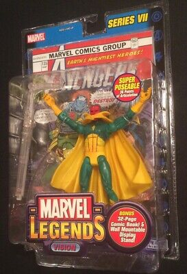 NIB Marvel Legends Series VII 7 Vision 6in. Action Figure Avengers 2004 NEW