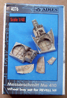 Aires 4076 1/48 Messerschmitt Me 410 Wheel Bay set