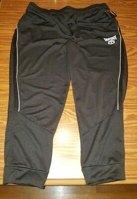 Nwt  50 Official Wwe Authentic Tapout Maximum Motion Black Track Pants Mens 3Xl
