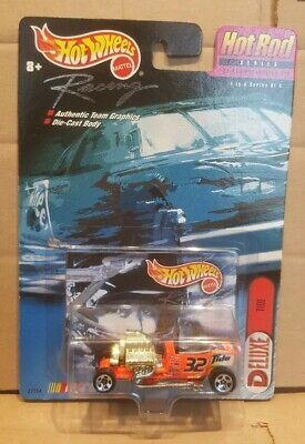 Hot Wheels racing , ford model t roadster hot rod #32 tide , mint on card