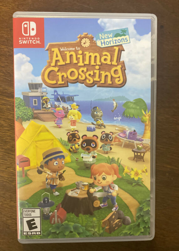 Nintendo Switch Case Animal Crossing New Horizons CASE ONLY - NO Game