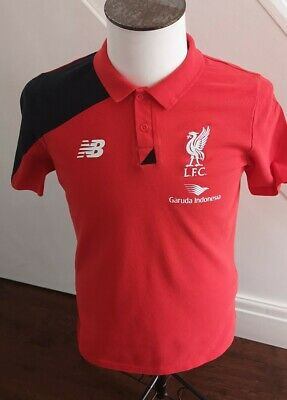 GENUINE  Men's Liverpool FC Polo  T Shirt   NEW BALANCE  / MEDIUM UK