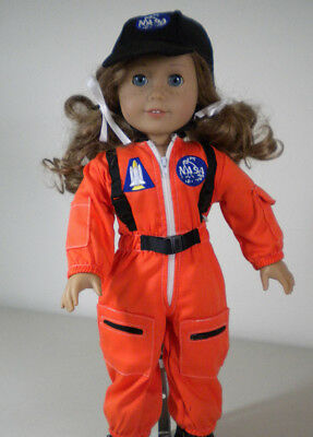 NASA Astronaut Flight Suit Outfit fits Most 18