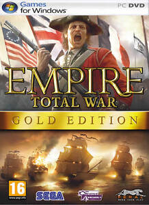 EMPIRE TOTAL WAR GOLD EDITION ( PC DVD)