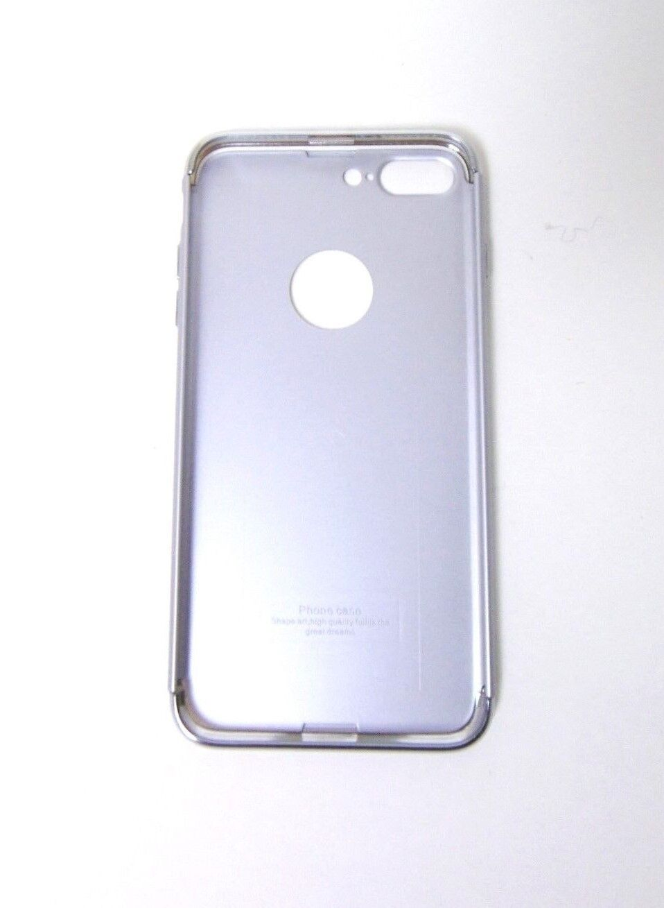 Ranvoo 0.3cm Thickness Silver IPhone 6s Plus Protective Hard Phone Case - $11.99