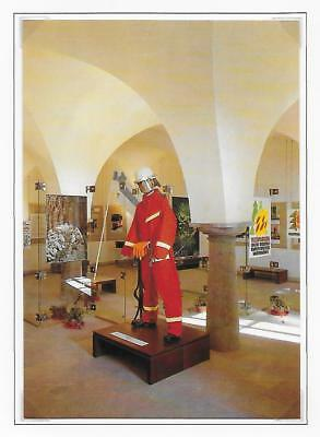 FIRE FIGHTING POSTCARDS. SET OF 12 FROM CZECHOSLOVAKIA FIRE MUSEUM