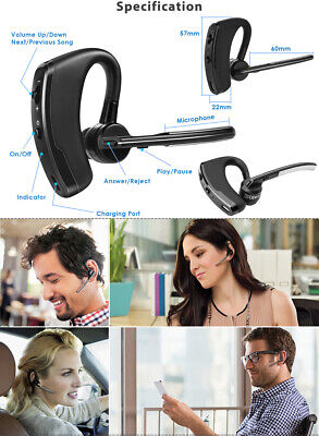 Bluetooth Stereo Headsets Microphone (Wireless Bluetooth Headset Stereo Headphone Earphone Sport Handfree)
