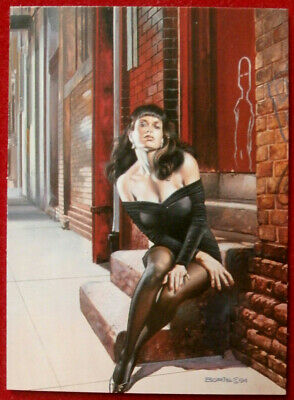 IMAGES OF JOSEPHINE - Individual Card #68 - AT THE DOOR - Boris Vallejo