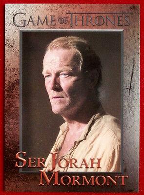GAME OF THRONES - Season 5 - Card #48 - SER JORAH MORMONT - Rittenhouse 2016