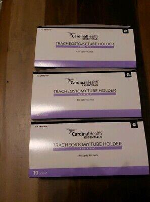 Pediatric Tracheostomy Tube Holder 10 Pcs Cardinal Health Essentials 9 Neck