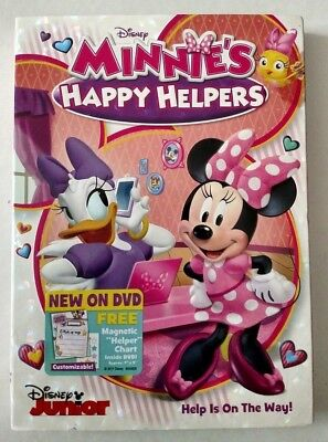 Minnies Happy Helpers (2017) Animation Movie, DVD + Slipcover, New Sealed - 2017 Animated Movies