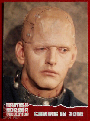 BRITISH H COLLECTION - DAVID PROWSE, Horror of Frankenstein - PREVIEW Card PR3