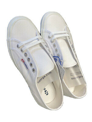 Superga People's Shoes Of Italy Cotu Classic USA Size M:6.5 W:8 Color White NIB