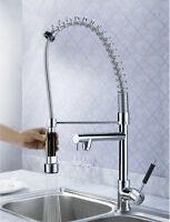 Chrome Commercial & Home Pull Out Spray Kitchen Sink Mixer Tap / Faucet 8525gdsf - ouboni - ebay.co.uk