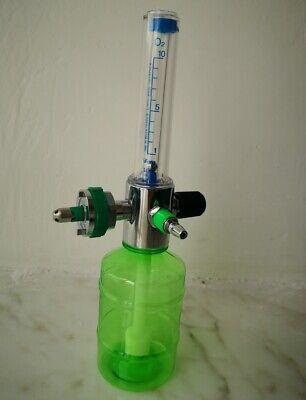 Medical Wall Oxygen Cylinder Regulator Pressure Flowmeters Gauge Valve Insertion