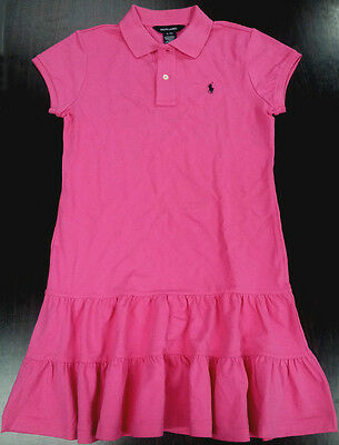 NWT Ralph Lauren Girl's Polo Cute Dress XL(16)
