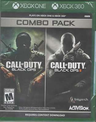 Call Of Duty  Black Ops 1   2 Combo Pack X360 Xbox One New Xbox One