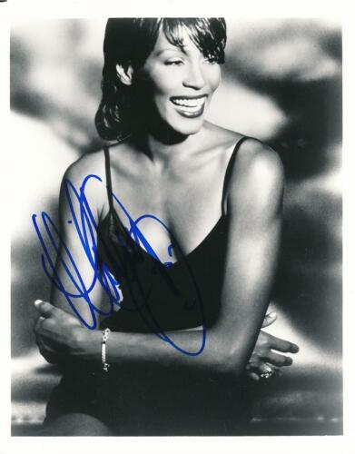 Whitney Houston-STUNNING Signed Photograph