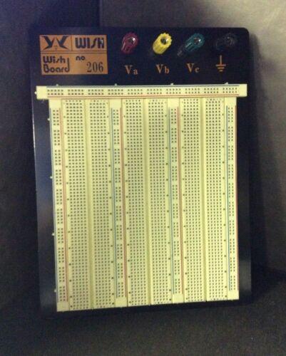 Large Wishboard WBU-206 Solderless Breadboard Perfect for Electronic Student