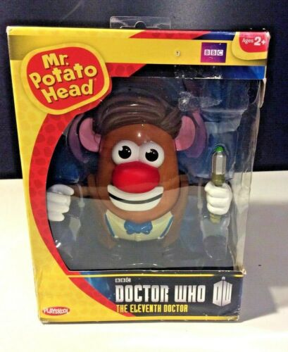Playskool BBC Doctor Who MR. POTATO HEAD 11th Doctor Action Figure NIB