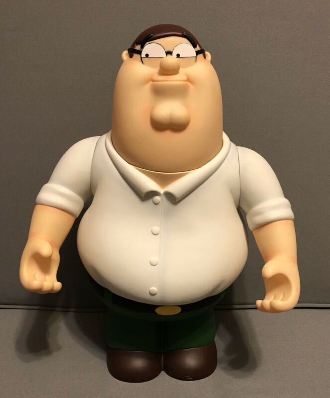 """Family Guy Peter Griffin Talking Action Huge Figure 18"""" tall """"Working"""""""