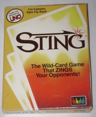 STING: The Wild-Card Game That Zings Your Opponents from the Makers of UNO - Wildcard Uno