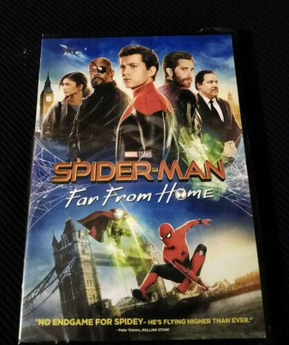 Spider-Man: Far From Home (DVD, 2019) Brand New!