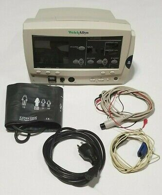 Welch Allyn 62000 Series Vital Signs Monitor Nibp Spo2 Ekg Recorder