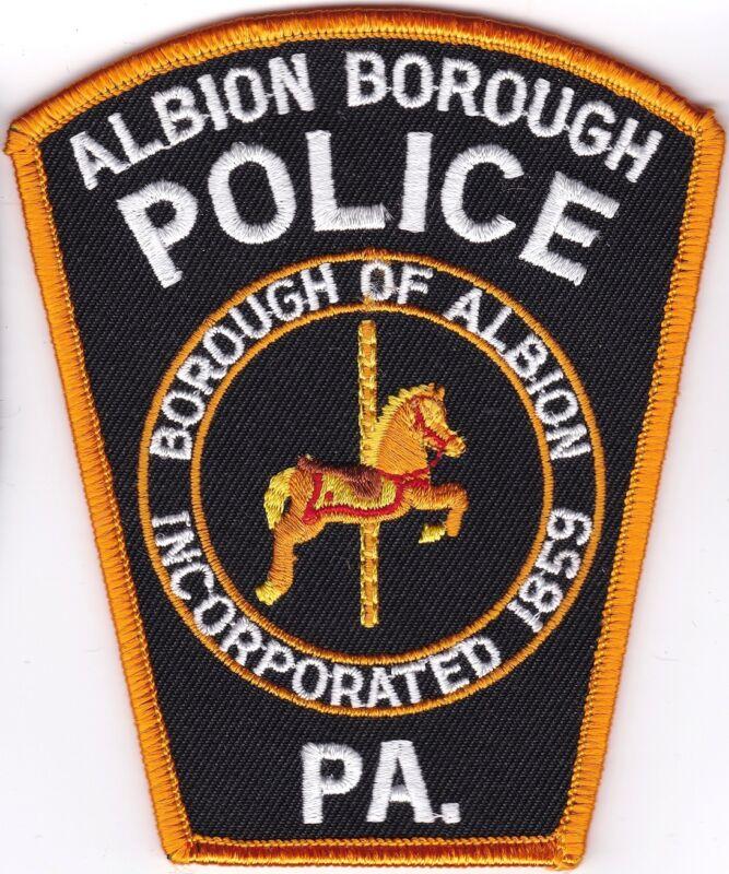 Albion Borough Police Patch Pennsylvania PA