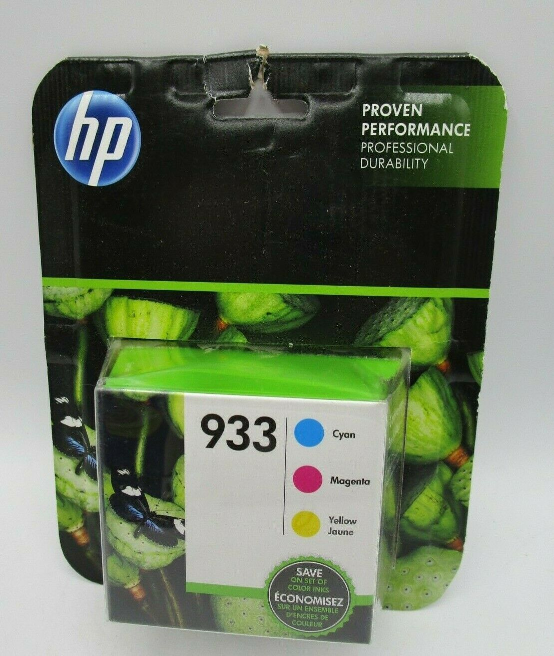 Genuine HP 933 Tri Color Ink Cartridges 07/2019 Printer Cart